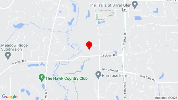 Google Map of 37w570 Bolcum Rd, Saint Charles, IL 60175