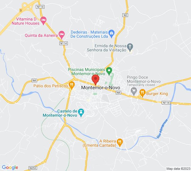 Google Map of CONSELHO GERAL DA ORDEM DOS ADVOGADOS, Largo São Domingos, Lisbon