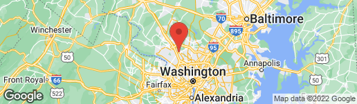 Map of 38 MARYLAND AVENUE PH613 ROCKVILLE, MD 20850