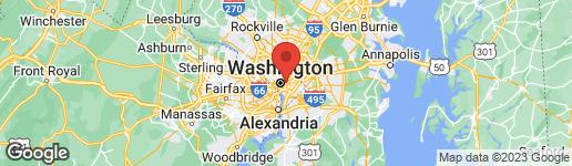 Map of 38 NEW YORK AVENUE NW WASHINGTON, DC 20001