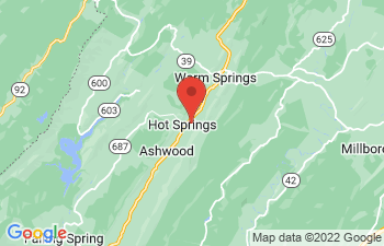 Map of Hot Springs