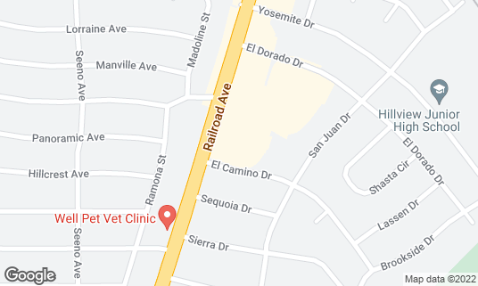 Map of Mehran Restaurant at 3841 Railroad Ave Pittsburg, CA