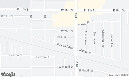 Map of ABC Rendezvous at 101 Walter Way Antioch, CA