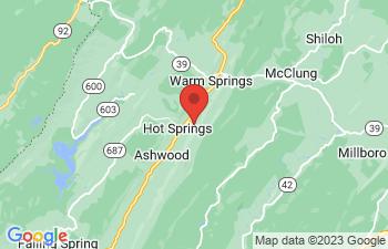 Map of Hot Springs