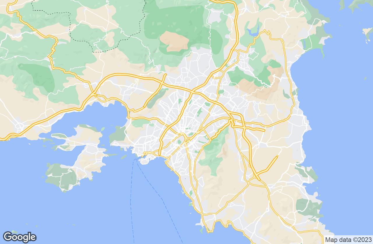 Google Map of أثينا