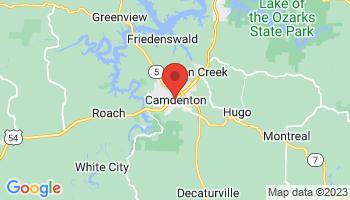 Map of Camdenton