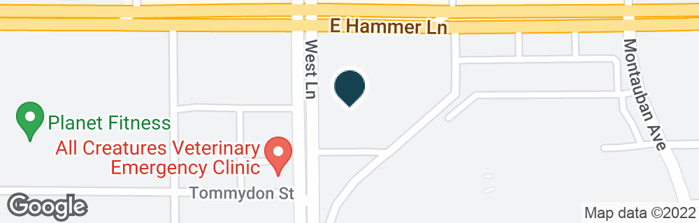 Google Map of7850 WEST LN