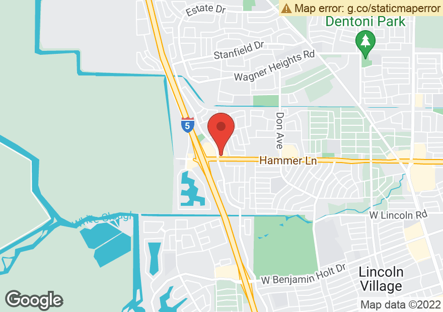 Google Map of 3131 W HAMMER LN