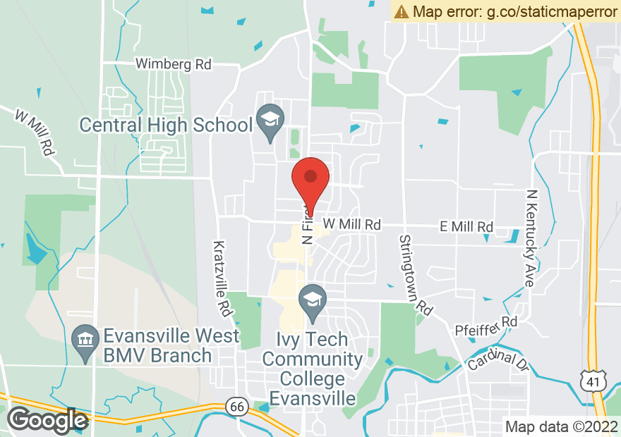 Google Map of 4701 N 1ST AVE