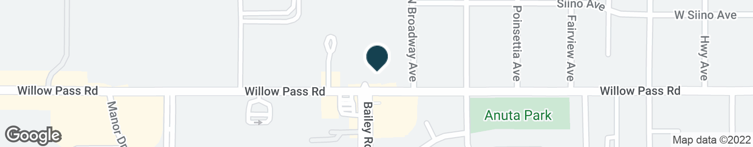 Google Map of2700 WILLOW PASS RD