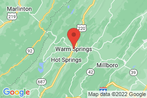Map of Warm Springs