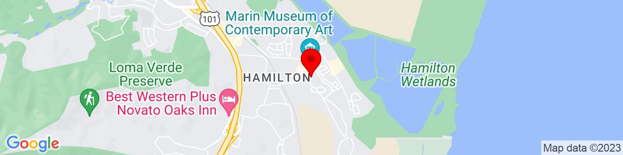 Google Map of 38.0562267, -122.5180512