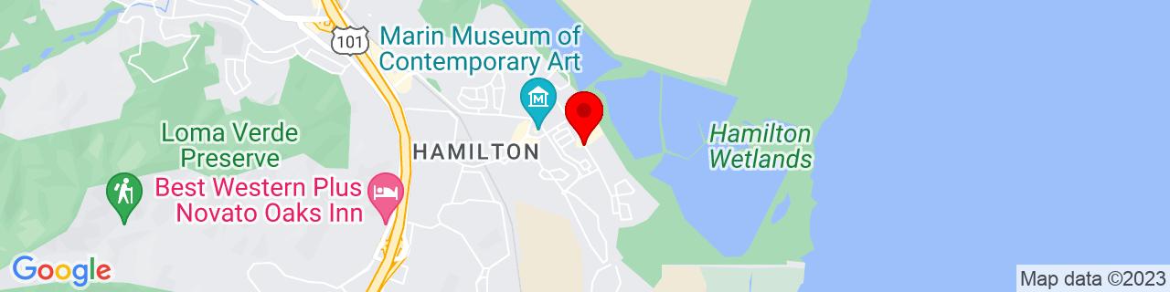 Google Map of 38.0566259, -122.5139341