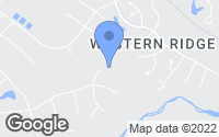 Map of Crozet, VA