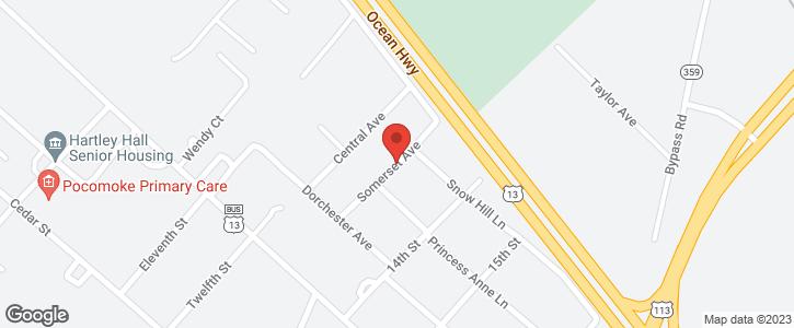 14 SOMERSET AVE Pocomoke City MD 21851