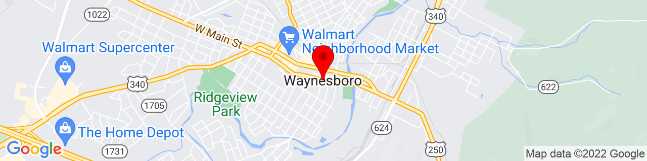 Google Map of 38.0684692, -78.8894682