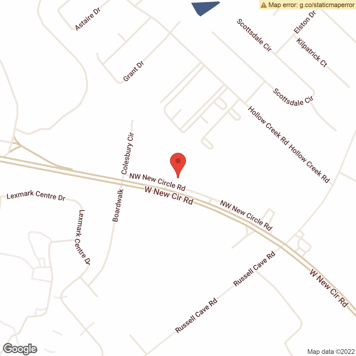 map to Central Bank ATM – North Park