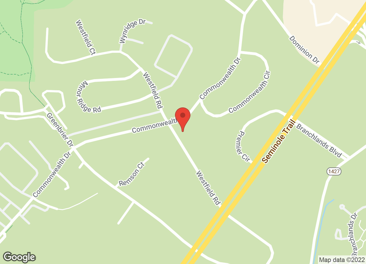 Google Map of VCA Albemarle Veterinary Health Care Center