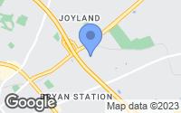 Map of Lexington, KY