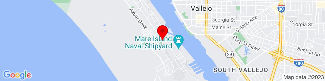 Google Map of 38.0954991, -122.269725