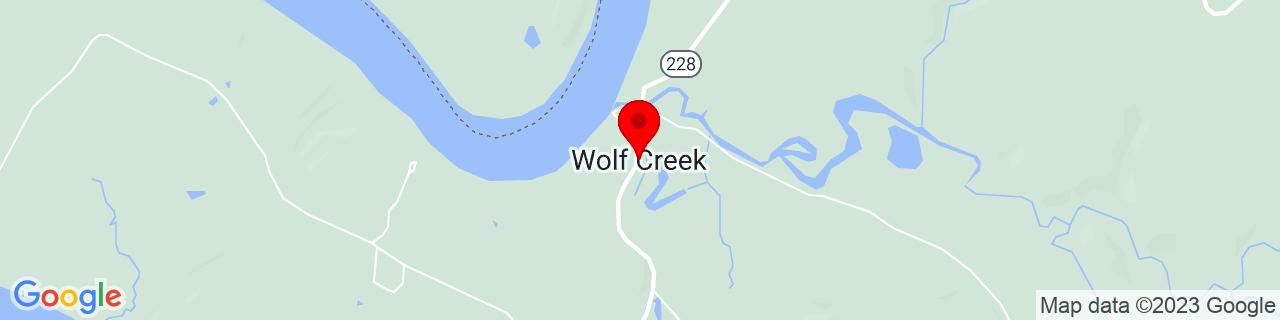 Google Map of 38.1028425, -86.38969929999999