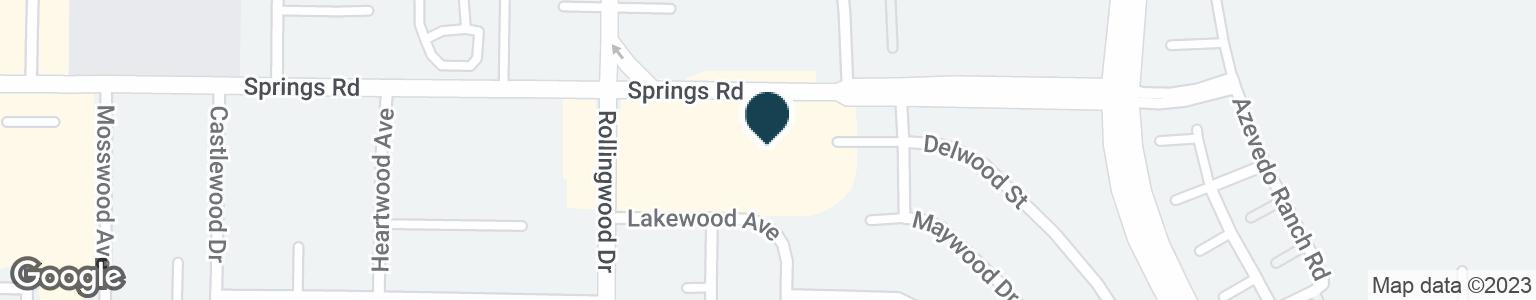 Google Map of2647 SPRINGS RD