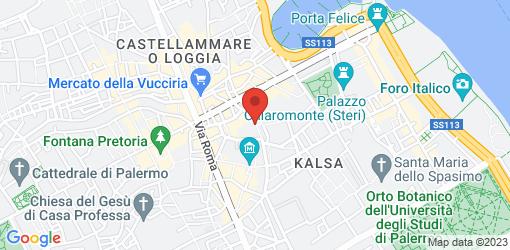 Directions to Antica Focacceria San Francesco