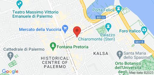 Directions to Cafe Cartari Cafe