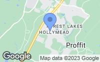 Map of Charlottesville, VA