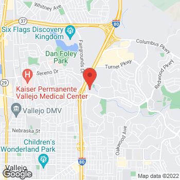 Map of Check `n Go at 754 Admiral Callaghan Ln., Vallejo, CA 94591