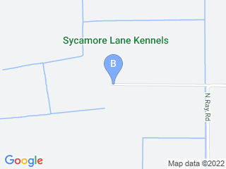 Map of Sycamore Lane Kennels Dog Boarding options in Lodi | Boarding