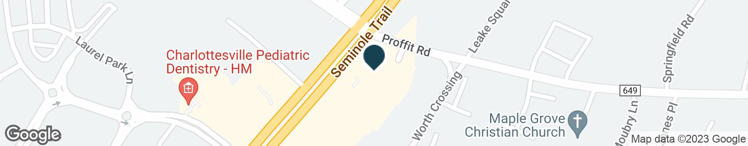 Google Map of3489 SEMINOLE TRL