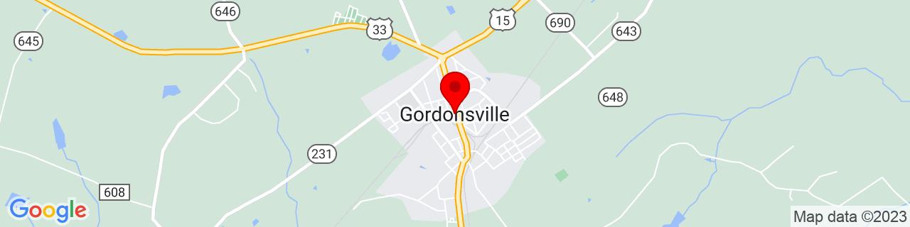 Google Map of 38.1373577, -78.187781