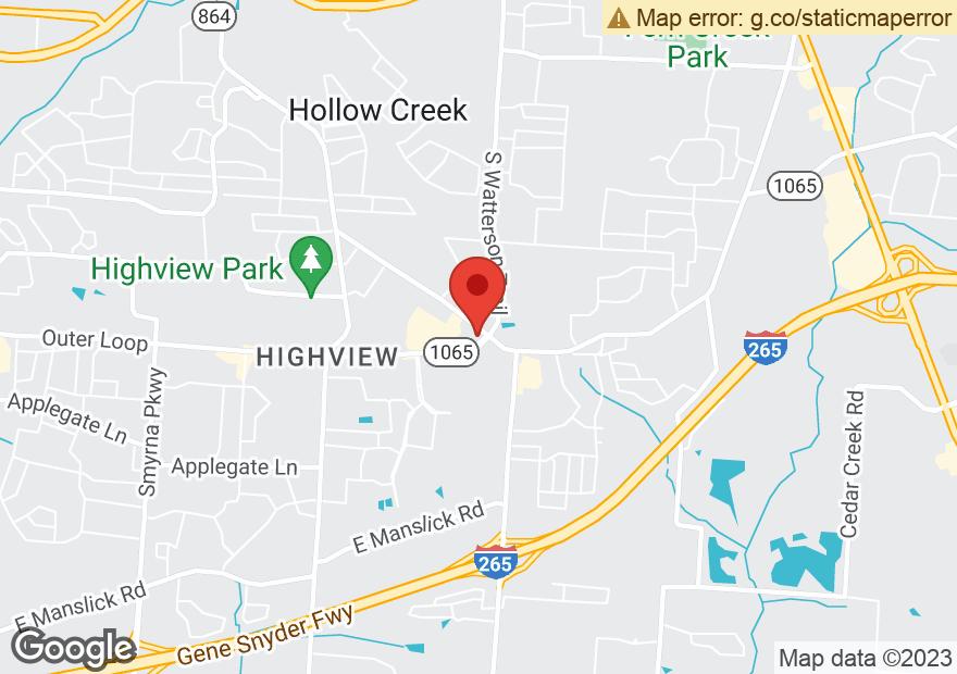 Google Map of 7914 FEGENBUSH LN