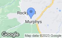 Map of Murphys, CA