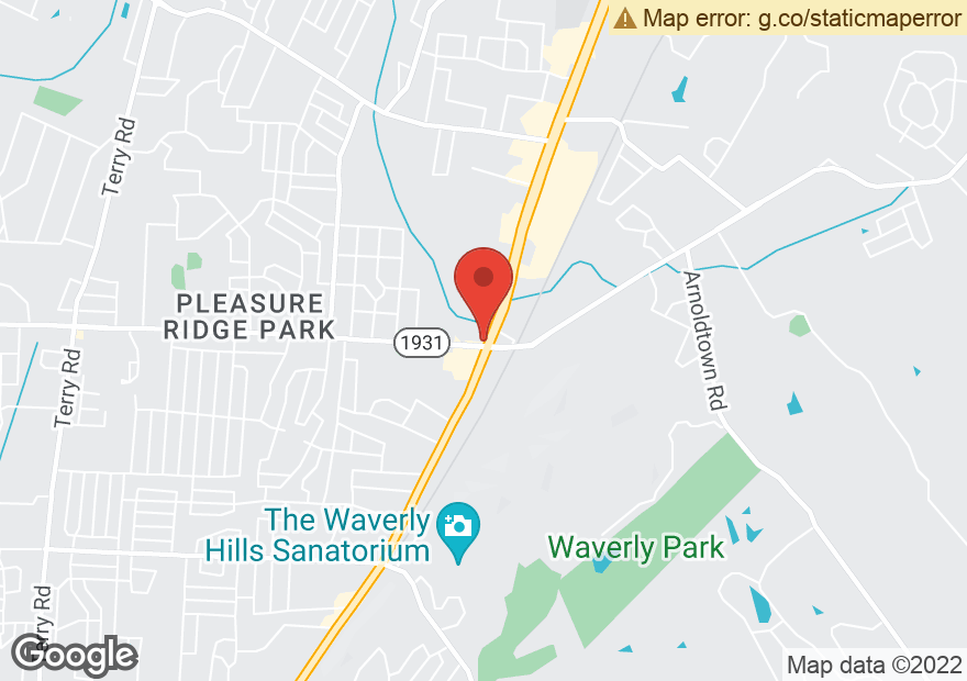 Google Map of 7338 DIXIE HWY