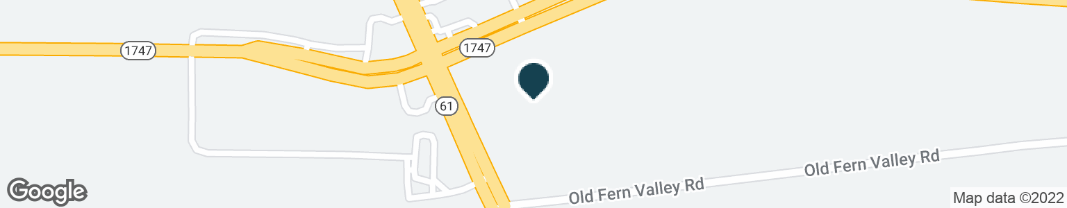 Google Map of3600 FERN VALLEY RD