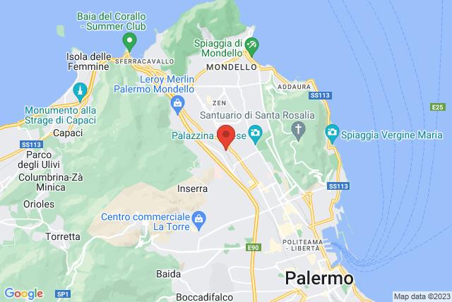 ASD Coreospazio 302 Map
