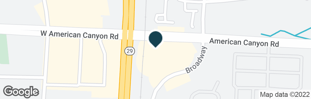 Google Map of210 AMERICAN CANYON RD
