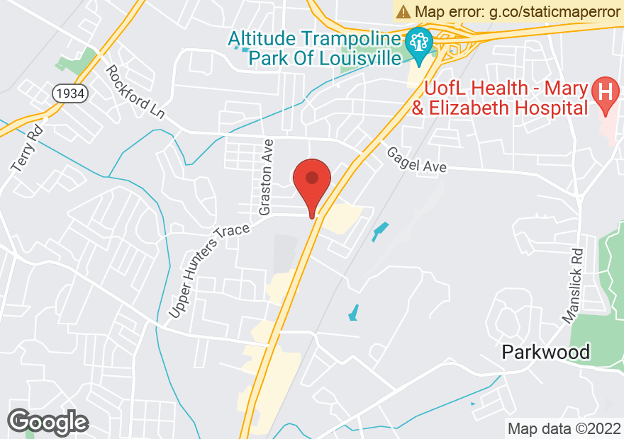 Google Map of 5100 DIXIE HWY