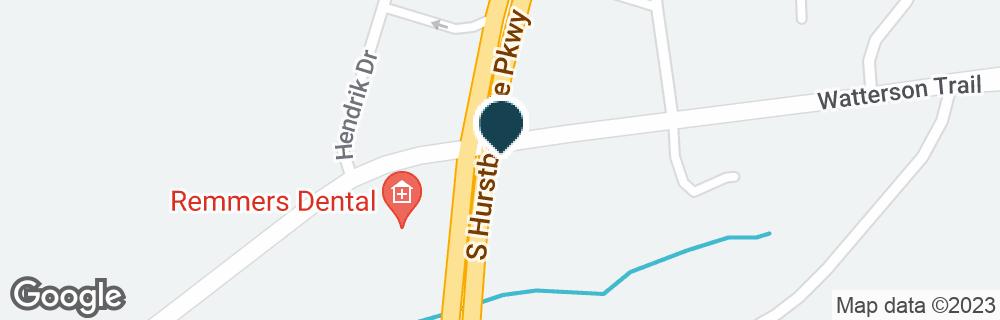 Google Map of8300 WATTERSON TRL