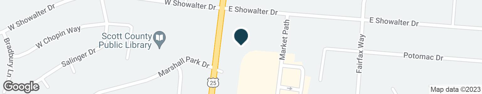 Google Map of926 S BROADWAY ST