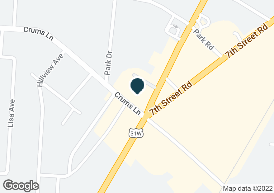 Google Map of3980 DIXIE HWY