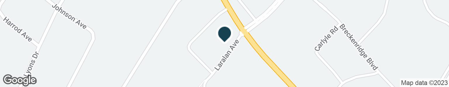 Google Map of385 VERSAILLES RD