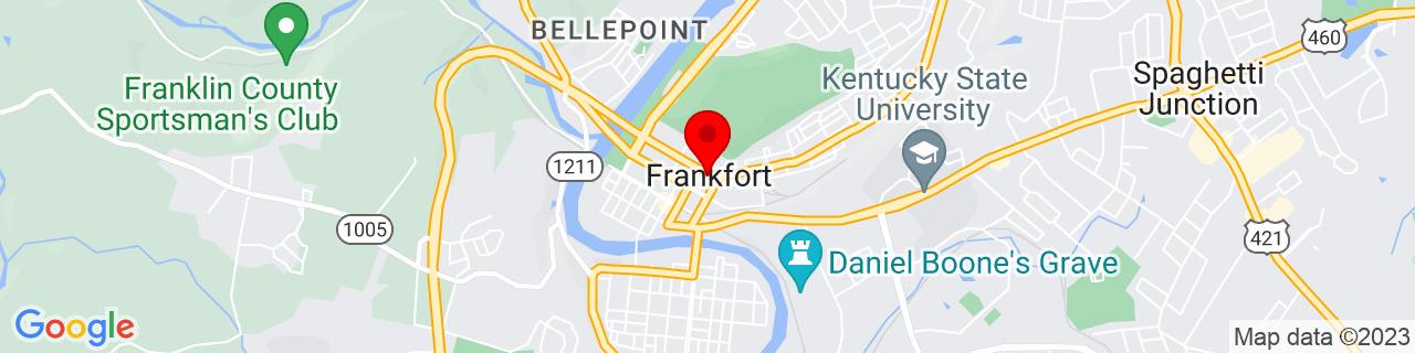 Google Map of 38.200833333333335, -84.87333333333332