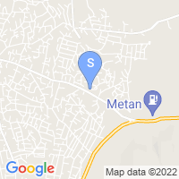 Location of Gaza on map