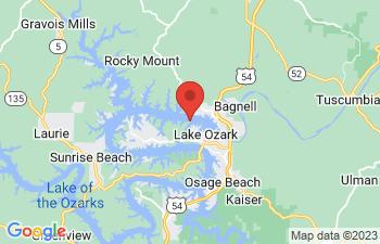Map of Lake Ozark