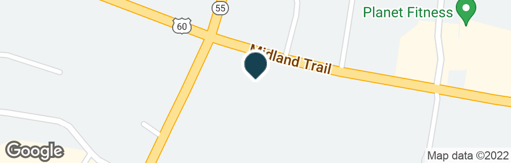 Google Map of2188 MIDLAND TRL