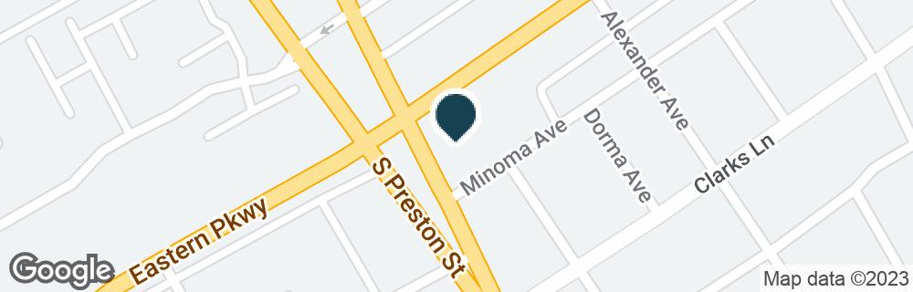 Google Map of808 EASTERN PKWY