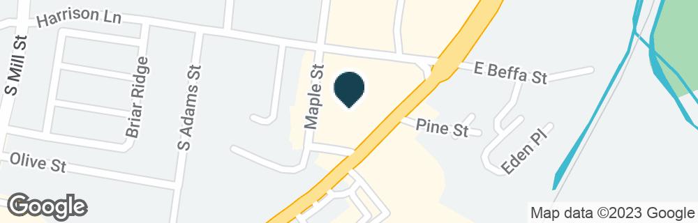 Google Map of519 S TRUMAN BLVD